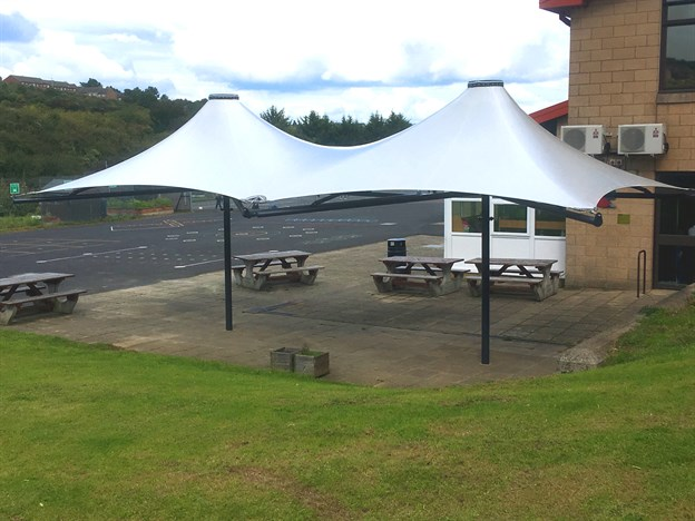 Playground Canopy, Kingfisher Primary School