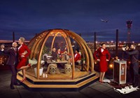 All Pod Dining Dome, Virgin at Heathrow