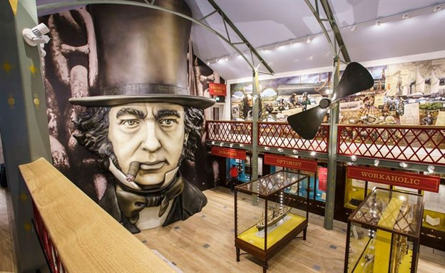 Being Brunel Cylinder, SS Great Britain