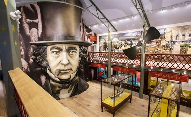 Being Brunel Cylinder, SS Great Britain