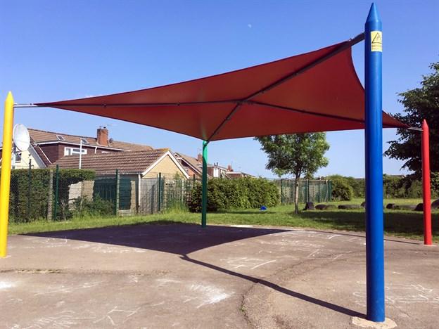 Playground Canopy, Holy Family School