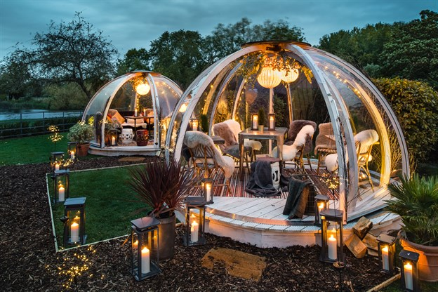 AllPod Dining Dome, Coppa Club Sonning