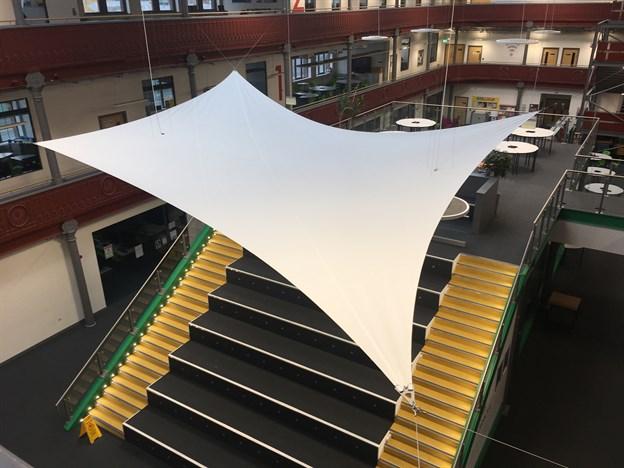 Leeds City College, Atrium Sail