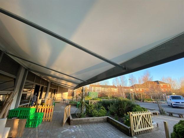 Staple Hill Primary School, Play Canopy