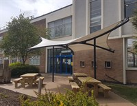Loughborough University, Covered Seating Canopy