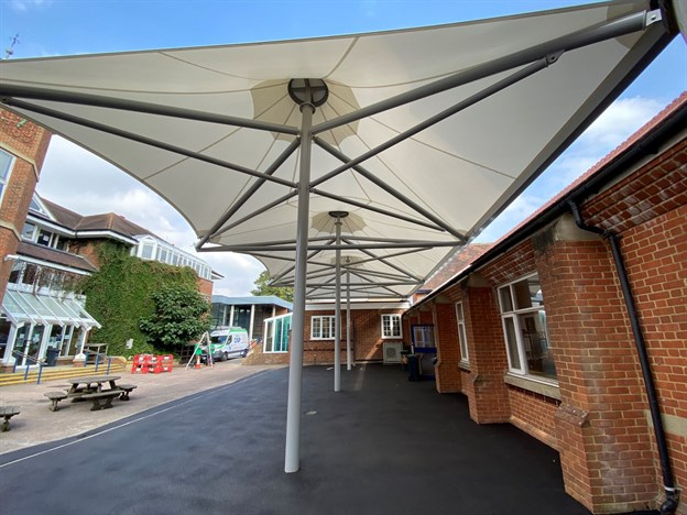 Judd School, Triple Conic Canopy